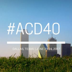 ACD40 CommUNITY